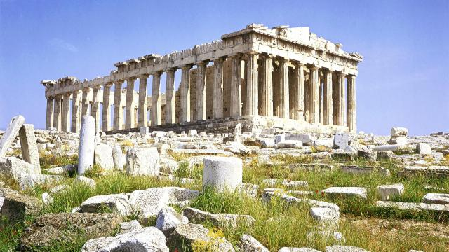 fotos-gratis-widescreen-atenas-construcao-grega
