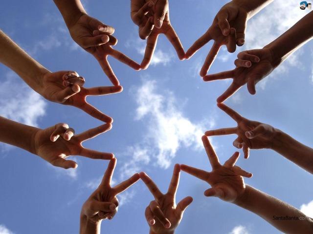 amizade-dedos