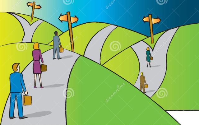 os caminhos a serem seguidos